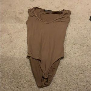 Brown Body Suit   ON HOLD